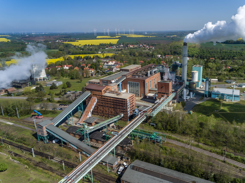 Kraftwerk Deuben, Foto: Rainer Weisflog